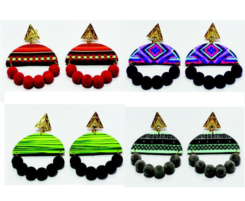 Brincos Leve e Releve Durban moda afro
