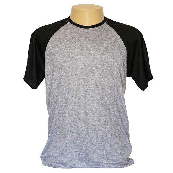 Camiseta masculina em poliéster