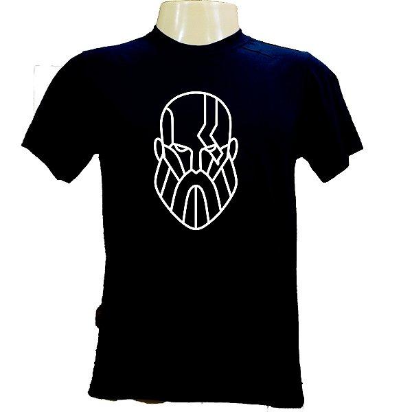 Camiseta masculina em algodão tema God of War