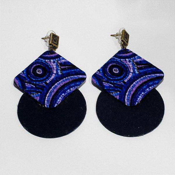 Brincos Quemé Azul