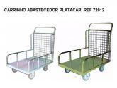 REF 72012 CARRINHO ABASTECEDOR PLATACAR (C)850 x (L)600 x (A) 1000mm