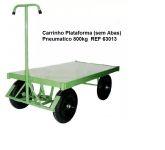 CARRINHO PLATAFORMA ASSOALHO CHAPA (SEM ABAS) 800KG.