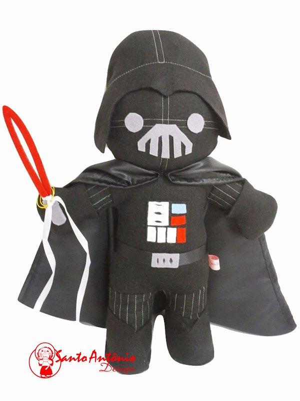 Porta-Aliança Boneco Darth Vader Star Wars Para Casamento Artesanal