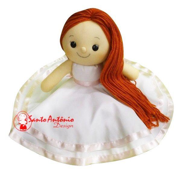 Boneca Daminha Gina Para Casamento Personalizada Artesanal