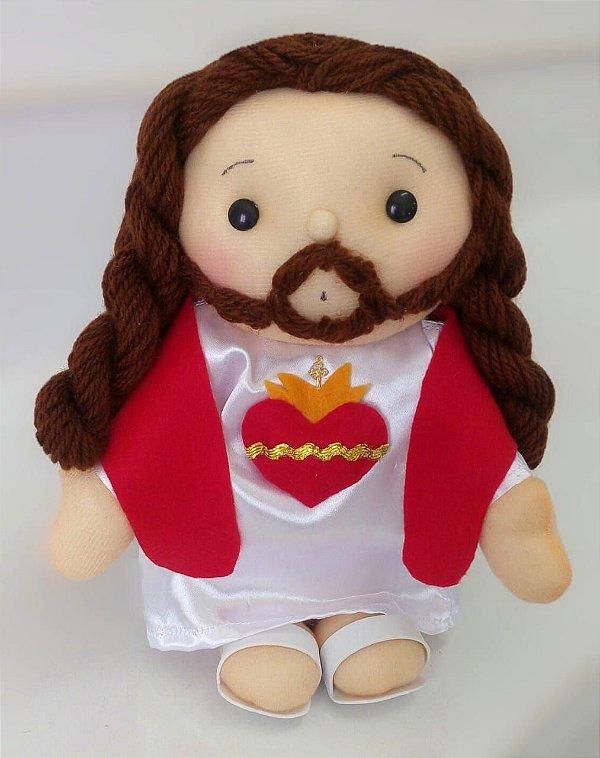 Boneco Sagrado Coração De Jesus