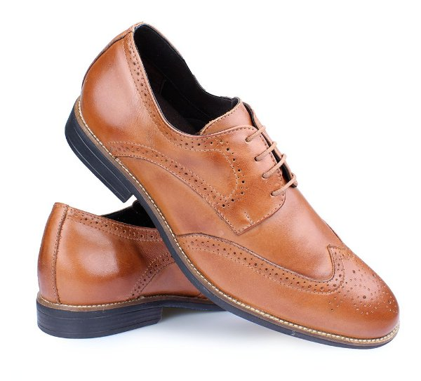 852ae7142 Sapato Social Oxford Couro Caramelo Perlatto Sf7422| Confira Agora ...