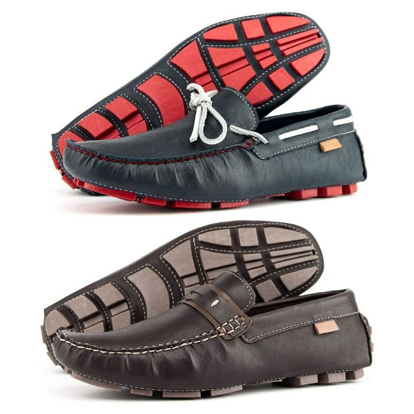 aa147a9a2b Kit 2 Pares Mocassim Dockside Casual Masculino