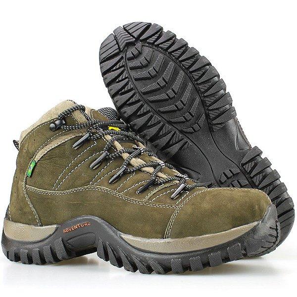 7f6bffc245f Bota Way Boots Adventure Trilha Masculina Cano Curto Chumbo