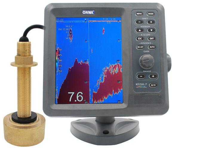 Sonar para Pesca Onwa KFISH-7 com Transducer de Bronze