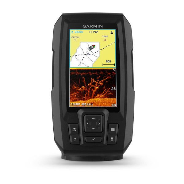 Sonar e GPS Garmin Striker 4CV Plus + Transd CV20 tm 010-01871-03