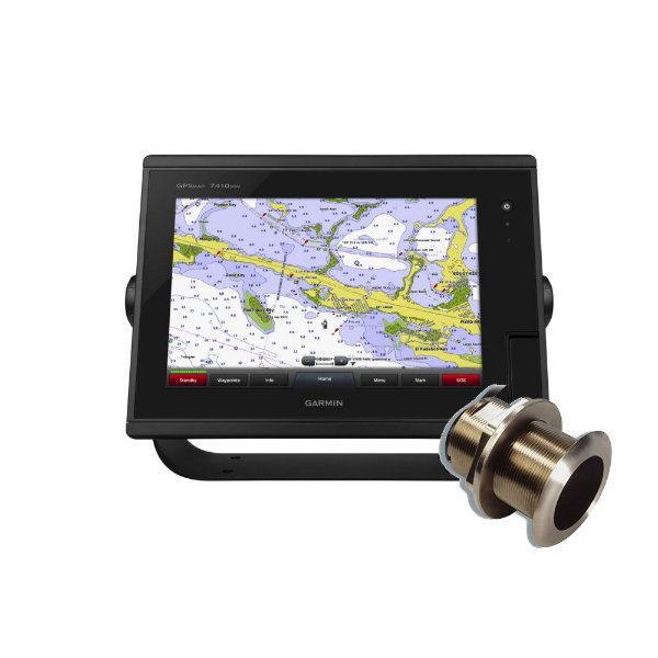 GPS Sonar Garmin GPSMAP 7410XSV + Transducer Bronze B60