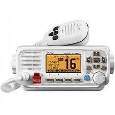Rádio Vhf Marítimo Icom Ic-M330 Com Dsc Homologado - Branco