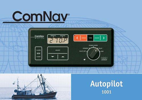 Piloto Automático Barco Pesca Veleiro Lancha Comnav 1001