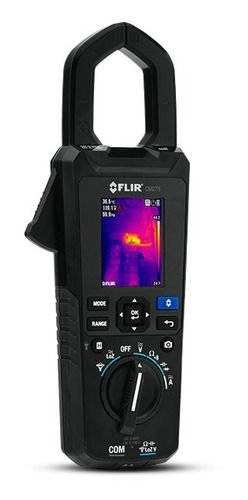 Alicate Amperimetro Flir 600a Com Imagem - Modelo Cm 275