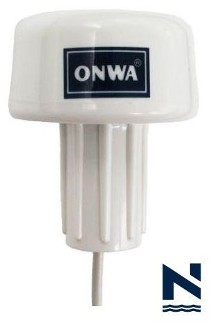 Antena de GPS Nmea0183 com sensor de PROA KA-GC9A Onwa