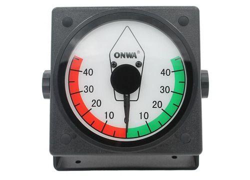 Display indicador de ângulo do leme analógico Onwa KRI-80