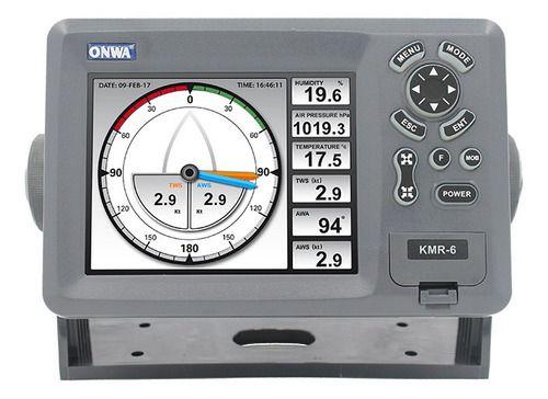 Display multi função integrador multiplexador Nmea0183 Kmr-6