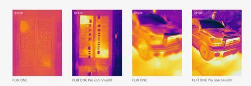 Flir One Pro câmera térmica p dispositivos Android micro-usb