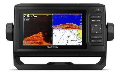 GPS Sonar Garmin EchoMap 62cv Plus c/transducer 010-01888-01