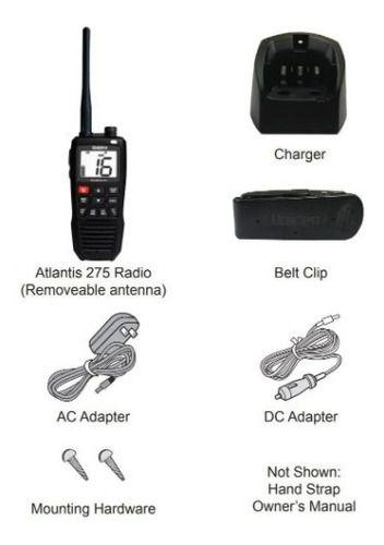 Rádio Uniden Solara Portátil Atlantis 275