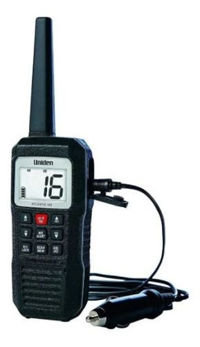 Radio Vhf, Uniden, Modelo: Atlantis155, 1w -2,5w, Portatil