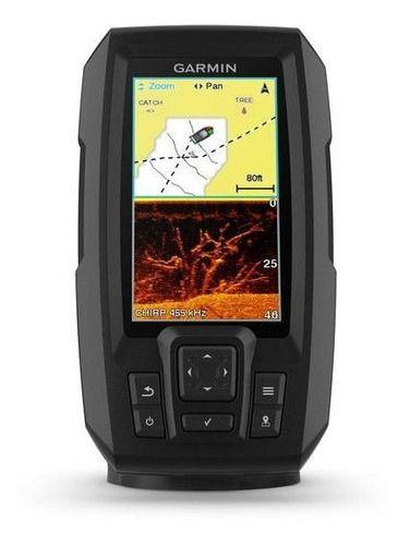 Sonar E Gps Garmin Striker 4cv Plus + Transd Gt20 Tm