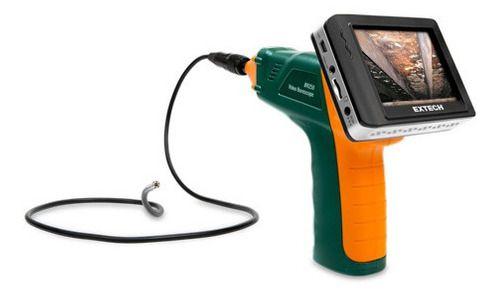 Vídeo Boroscópio Com Camera 9mm Monitor Wifi Extech Br 250