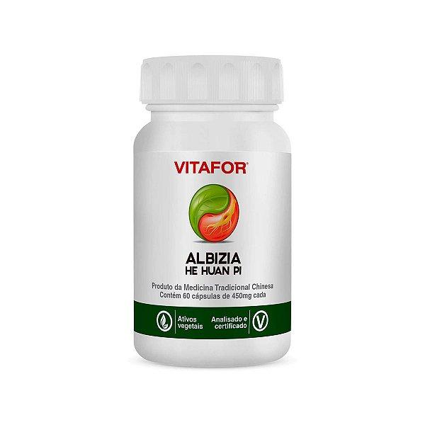 ALBIZIA - HE HUAN PI - 60 Capsulas -Vitafor