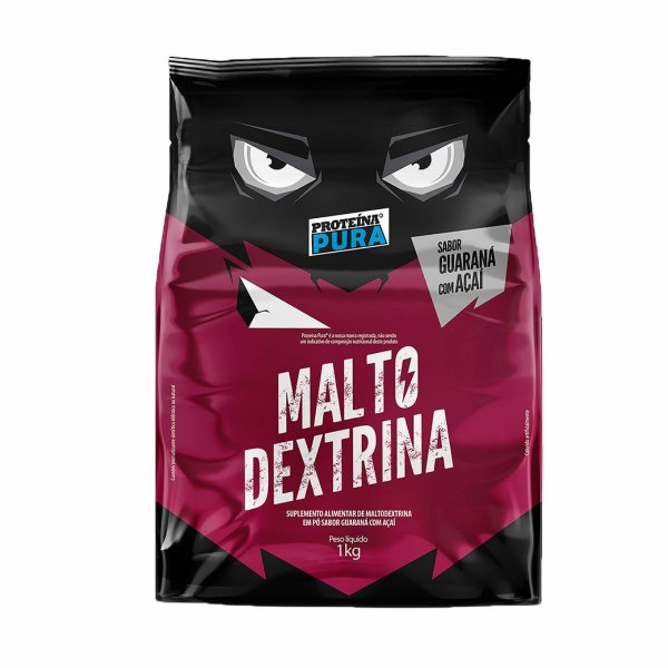 Maltodextrina - Sabor Guaraná com Açaí 1kg - Proteína Pura