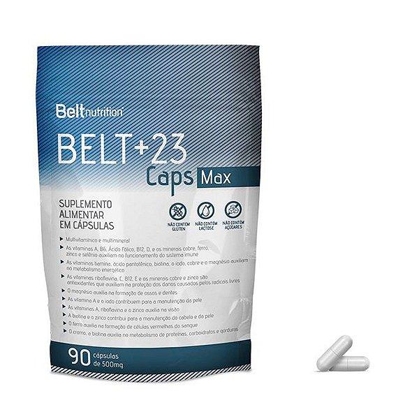 Belt +23 Soft  Caps Max - 90 Cápsulas - Belt Nutrition