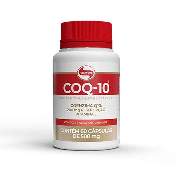 Coq 10 Coenzima 60 Capsulas - Vitafor