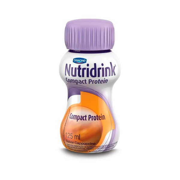 Nutridrink Compact Protein - 125 ml - Sabor Cappuccino - Danone