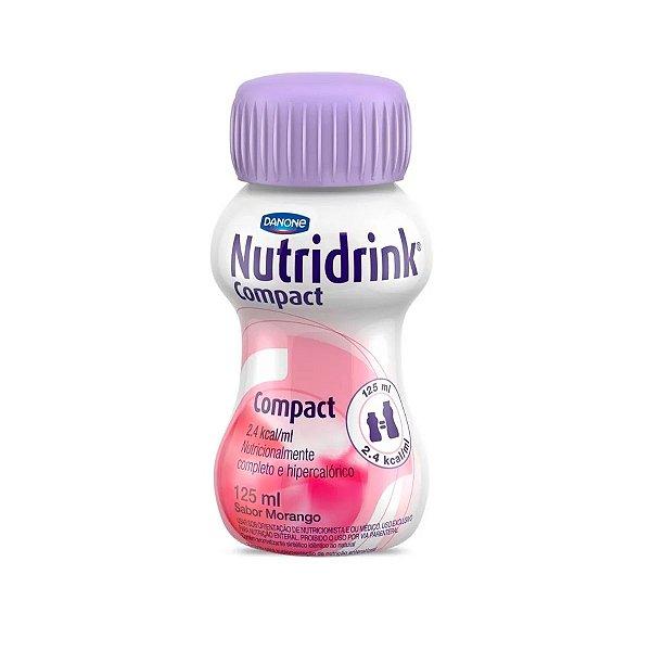 Nutridrink Compact - 125 ml - Sabor Morango - Danone