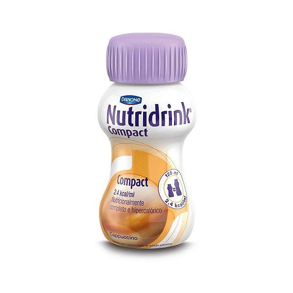 Nutridrink Compact - 125 ml - Sabor Cappuccino - Danone