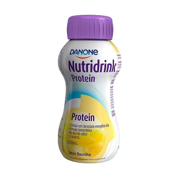 Nutridrink Protein - 200 ml - Sabor Baunilha - Danone