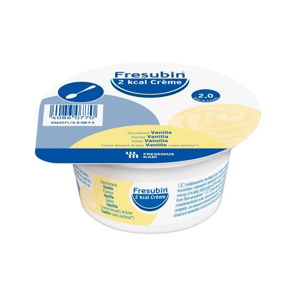 Fresubin Creme - 2 kcal - Baunilha - 125g - Fresenius