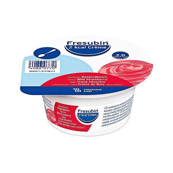 Fresubin Creme - 2 kcal - Frutas da Floresta - 125g - Fresenius