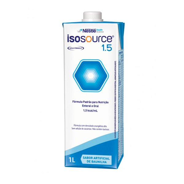 Isosource 1.5 - 1L - Nestlé