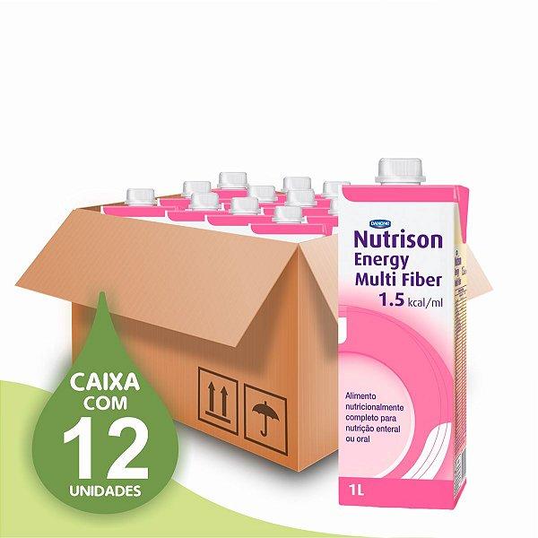 Nutrison Energy Multi Fiber 1.5  - Danone - Caixa com 12 unidades