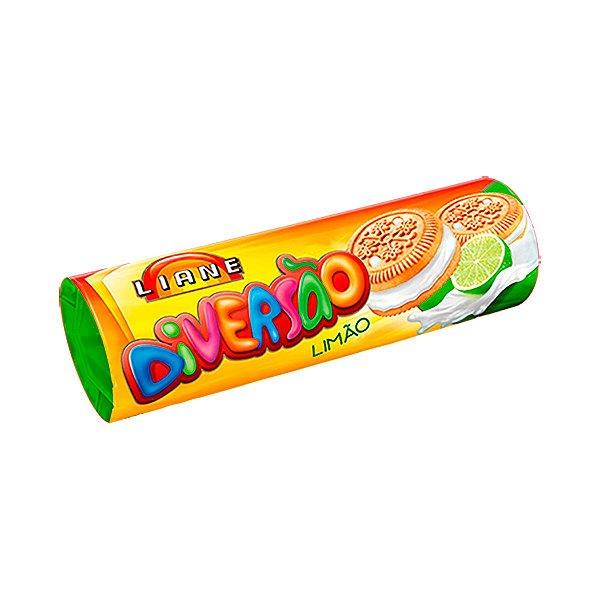 Biscoito Recheado 115g - Sabor Limão - APLV - Liane