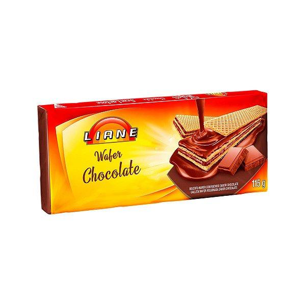 Biscoito Wafer Chocolate 115g - APLV - Liane