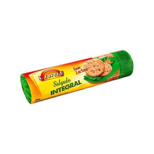 Biscoito Integral Salgado 90g - Sem Lactose - Liane