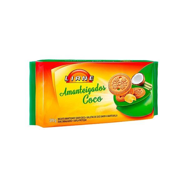 Amanteigado 315g - Sabor Coco - APLV - Liane
