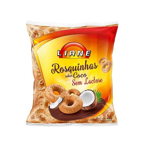 Rosquinha 400g - Sabor Coco - Sem Lactose - Liane