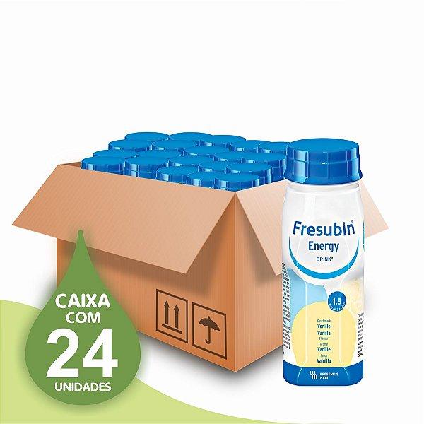 Fresubin Energy Drink - Baunilha - 200ml - 1.5 - Fresenius - Caixa com 24 unidades