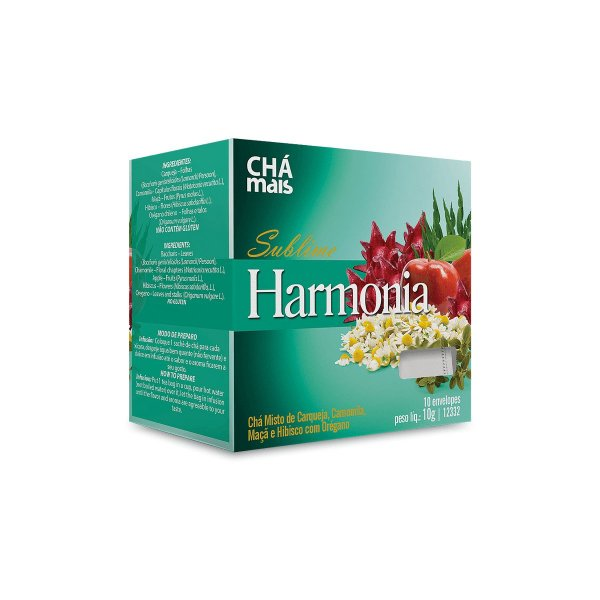 Cha Sublime Harmonia - 10 saches - Clinic Mais