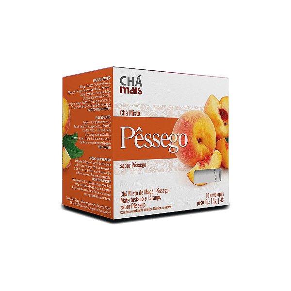 Chá Misto Pêssego - 10 Saches - Clinic Mais