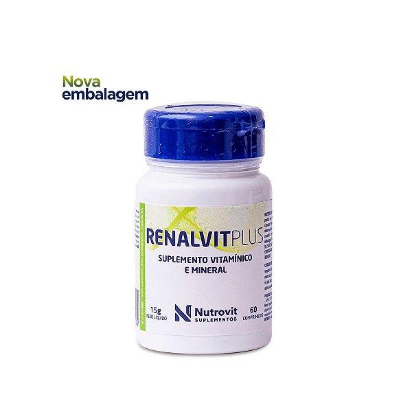 Renalvit Plus - 60 comprimidos - Nutrovit