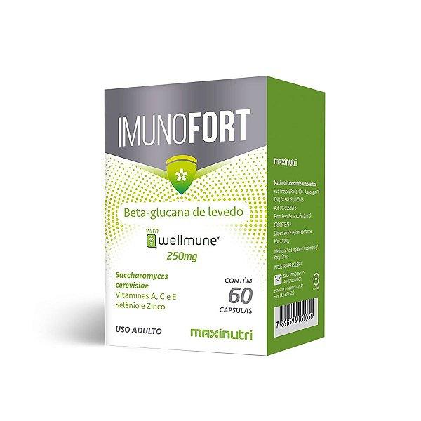 Imunofort Wellmune - 60 cápsulas - Maxinutri
