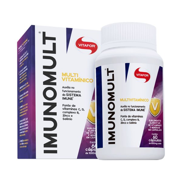 Imunomult - 60 Cápsulas - Vitafor